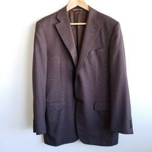 Canali 1934 Blazer Sport Coat Jacket Houndstooth